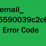 How To Fix [pii_email_9c55590039c2c629ec55] Error Solved
