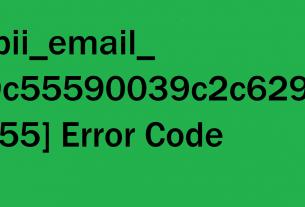 How To Fix [pii_email_9c55590039c2c629ec55] Error Solved